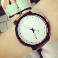 Women Men Simple Style Watch + Christmas Gift Box-26