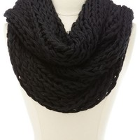 WOVEN CHAIN LINK INFINITY SCARF