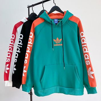 Adidas Clover embroidered sweater