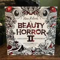 The Beauty of Horror II Coloring Book by Alan Robert