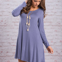 Simply Meant To Be Dress, Blue