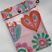 See Through Pouch - Graphiti Inspired - clear bag- Pencil case- First aid bag- Gadget bag- Cosmetics bag - gif under 15