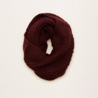Aerie Knit Scarf, Deep Plum | Aerie for American Eagle