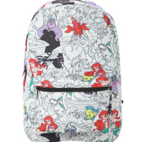 Disney The Little Mermaid Print Backpack