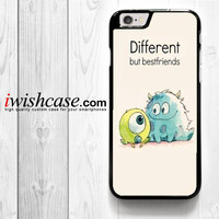 Monster Inc Baloon for iPhone 4 4S 5 5S 5C 6 6 Plus , iPod Touch 4 5  , Samsung Galaxy S3 S4 S5 S6 S6 Edge Note 3 Note 4 , and HTC One X M7 M8 Case