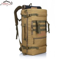 50L Military Backpack | Camping, Mountaineering, Backpack, Hiking, Rucksack, Travel Backpack