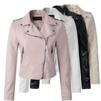 PU Leather Outerwear Jacket
