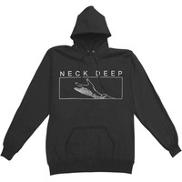 Neck Deep Men's  Hands Hooded Sweatshirt Black