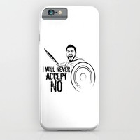 """I will never accept """"NO"""" iPhone & iPod Case by PASob"""