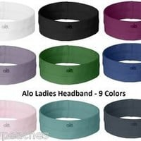 ALO NEW Ladies Headband, Womens Fitness, Running, Jogging, Sports, gym, w7000