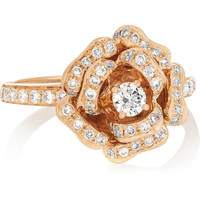 Anita Ko - 18-karat rose gold diamond ring