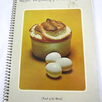 French Cookbook Provincial France Recipes Country French Souffles Vegetables Desserts Fish Soups Poultry Meat