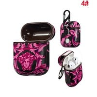 VERSACE Hot Sale Fashionable AirPods Bluetooth Wireless Earphone Case Protector (No Headphones) 4#