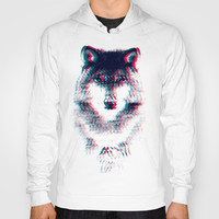 Act like a wolf.  Hoody by Mason Denaro