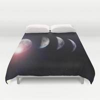 Moon (Variant) Duvet Cover by DuckyB (Brandi)