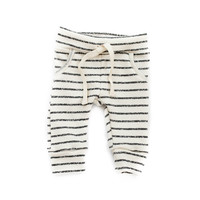 Baby Jogger Sweats in Charcoal Stripes