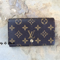 Authentic Used Louis Vuitton Tresor Wallet