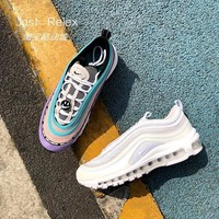 shopeeone.my NIKE AIR MAX 97 Women's Smiley Rainbow White Bullet 3M Reflective Cushion Shoes