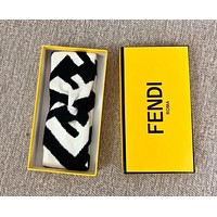 FENDI New Popular Women Men Personality Crochet Knit Knitted Headwrap Headband Warmer Head Sport Hair Band White