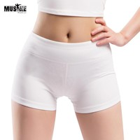 """Women's Summer Shorts Bodybuilding Fitness Gyms Clothing Bottom Workout For Female Spandex Polyester 3"""" Inseam"""