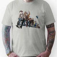 11 Doctors on a bike Unisex T-Shirt