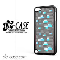 Minecraft Inspired Ore Diamond For Ipod 5 Ipod Touch 5 Case Phone Case Gift Present YO