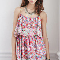 Raga LA Embroidered Layered Dress