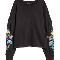 H&M Embroidered Sweatshirt $39.99