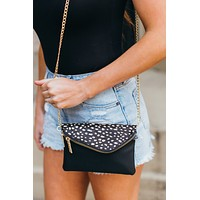 Luna Crossbody - White Dot