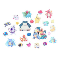 Pokemon Peel and Stick Wall Decals