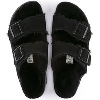 Birkenstock Arizona Shearling Suede/Shearling - Black
