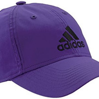 adidas Women's Performance Logo Cap Semi Night Flash One Size Purple - Semi Night Flash S15/Black