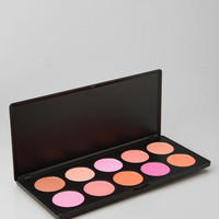 Urban Outfitters - bh cosmetics 10-Shade Professional Blush Palette