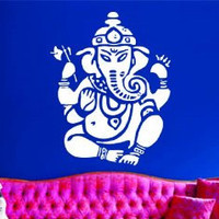 Ganesha Elephant Version 103 Decal Sticker Wall Art Graphic