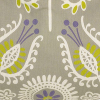 PERIWINKLE FLORAL PRINT FABRIC