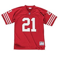 San Francisco 49ers Mitchell & Ness 1994 Deion Sanders #21 Replica Throwback Jersey