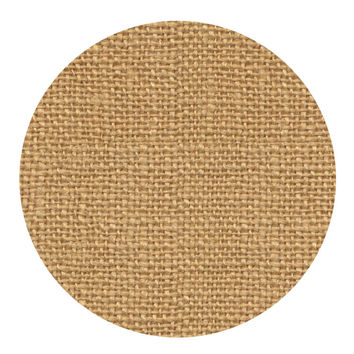 90 Printable Circle Burlap Background Stickers, 1.5 inch