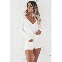 Snow In July Ivory Cozy Lounge Set