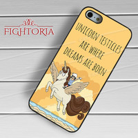 Tina Belcher Quote Unicorn - zZzD for  iPhone 6S case, iPhone 5s case, iPhone 6 case, iPhone 4S, Samsung S6 Edge
