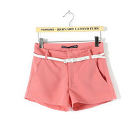 Summer Simple Design Casual Pants Women's Fashion Shorts [4917834756]