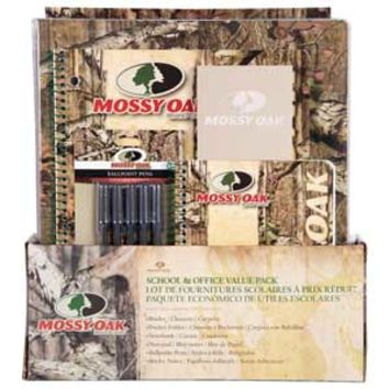 Mossy Oak Camo School and Office Value Pack