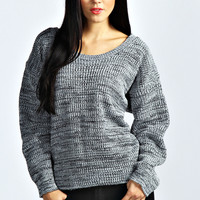 Cara Oversized Fisherman Knit Jumper