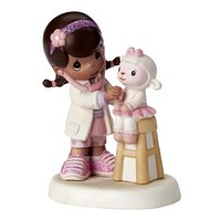 Precious Moments Disney Doc McStuffin With Lamb Figurine