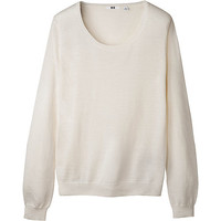 WOMEN EFM ROUND NECK SWEATER