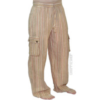 Beach Comber Cargo Pants on Sale for $29.95 at HippieShop.com