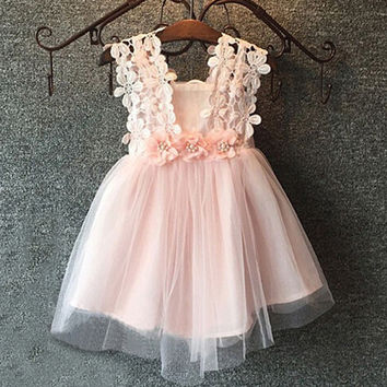 Kids Girls Baby Dress Products For Children = 4457642500