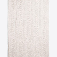 Cable-Knit Wool and Cashmere Blanket for Women | Vince