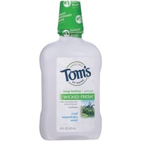 Tom's of Maine™ Wicked Fresh!™ Cool Mountain Mist Mouthwash 16 fl. oz. Bottle - Walmart.com