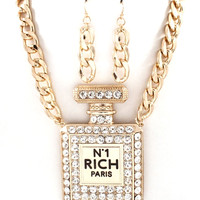 RICH GIRL EARRING SET