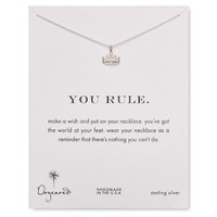 Dogeared You Rule Necklace